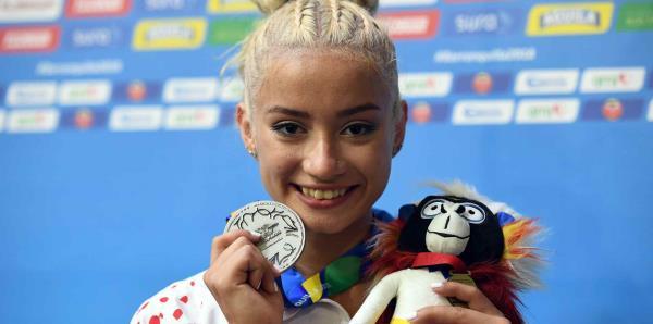 Histórica medalla de plata para Puerto Rico en gimnasia