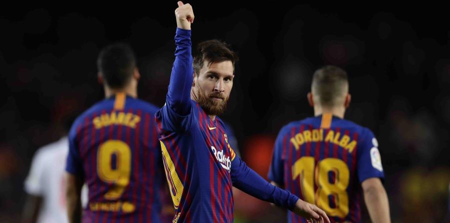 Messi celebra su gesta. (AP) (horizontal-x3)