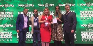 GFR Media gana un premio a la excelencia en los Latam Digital Media Awards