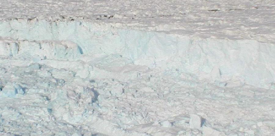 La zona bajo el iceberg A68 ha estado cubierta por más de 120,000 años. (EFE) (horizontal-x3)
