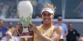Madison Keys se corona por primera vez en el Masters de Tenis en Cincinnati