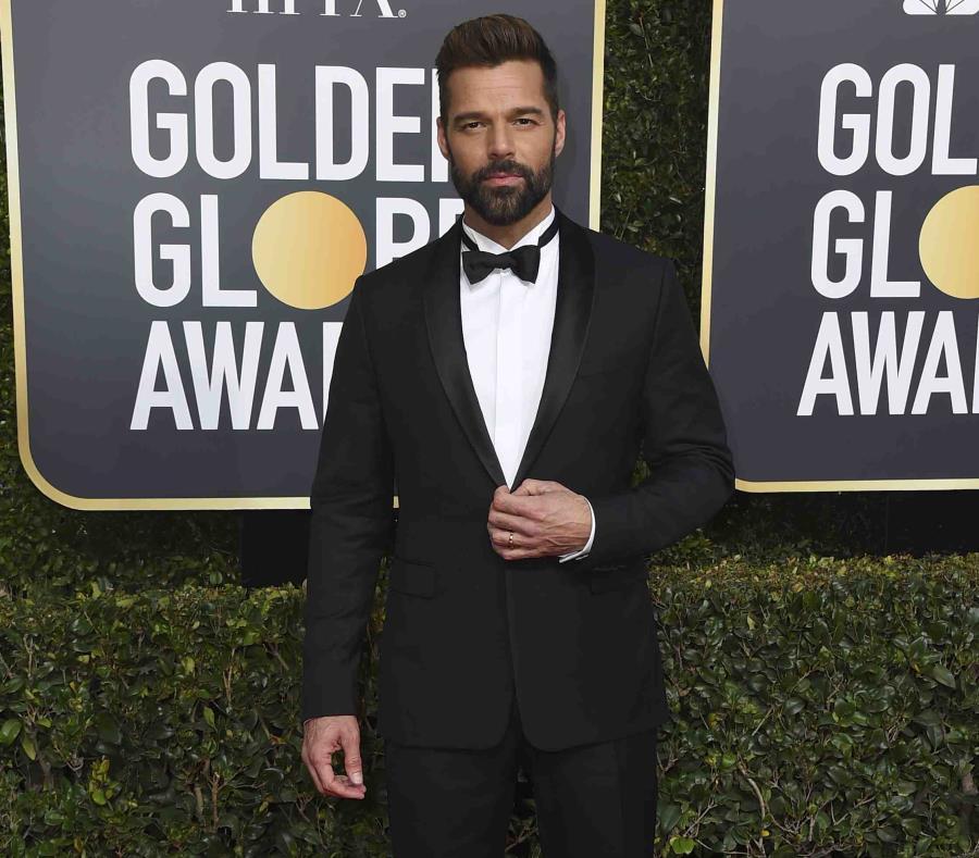 El cantante y actor en su llegada a la edición 2019 de los Golden Globes. (GFR Media) (semisquare-x3)