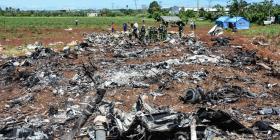 Sobreviviente de accidente aéreo en Cuba ansía conocer las causas