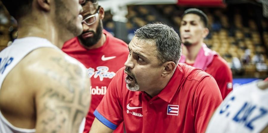 Eddie Casiano, dirigente de la selección adulta masculina de Puerto Rico. (Suministrada/ FIBA) (horizontal-x3)