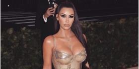 Kim Kardashian comparte la primera foto de su cuarto hijo