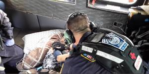 La Guardia Costera se despliega por la isla para asistir a las víctimas