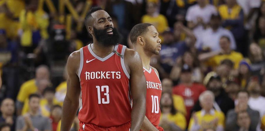 James Harden, junto a su compañero de los Rockets,  Eric Gordon, opinó que la