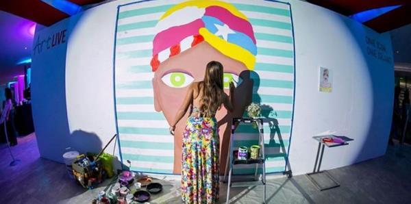 Plaza Carolina le abre las puertas al arte