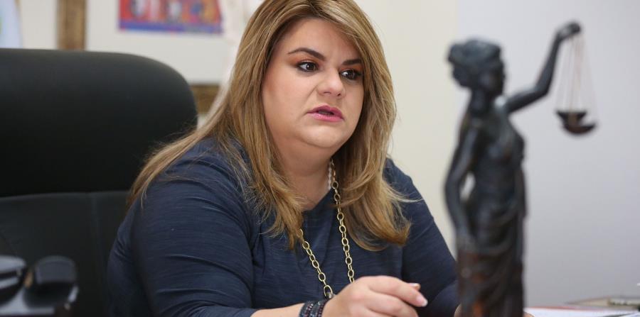 En la foto está Jenniffer González, comisionada residente en Washington. (horizontal-x3)