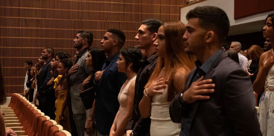 Los mejores atletas del país durante el 2018 fueron reconocidos en una actividad celebrada en el Teatro de la Facultad de Derecho de la Universidad Interamericana. (horizontal-x3)