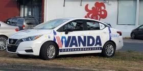 Vehículos de la campaña de Wanda Vázquez fueron costeados con aportaciones ciudadanas