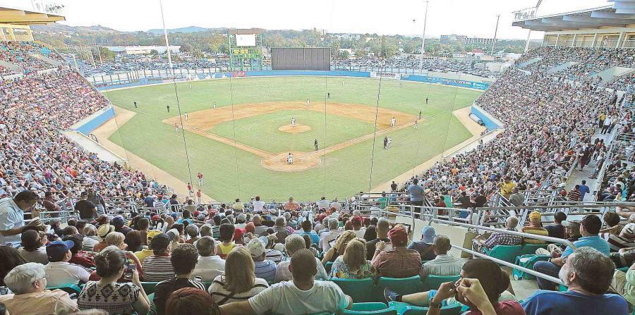 El Estadio Isidoro 'Cholo' García fue el que menos daños sufrió con el embate del huracán María, según el administrador del equipo de los Indios. (horizontal-x3)