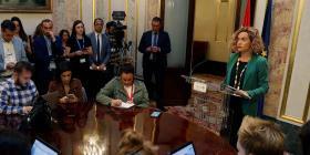 El Congreso español suspende a los cuatro diputados independentistas presos