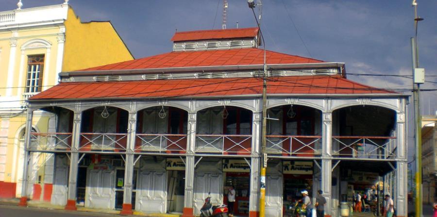 Casa de Fierro en Iquitos, Perú