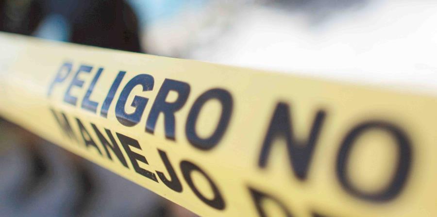 la Policía informó que ha detenido a una persona con relación a estos hechos. (horizontal-x3)