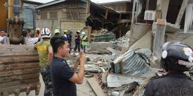 Un sismo de magnitud 6.8 sacude el sur de Filipinas