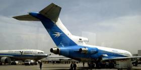 Se estrella un avión en una zona talibán en Afganistán