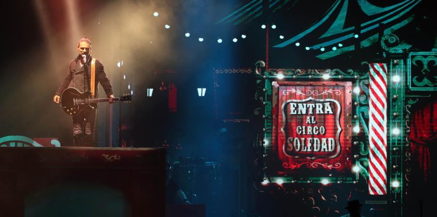 Ricardo Arjona derrochó su talento en una mágica noche, llena de actos circenses. (horizontal-x3)