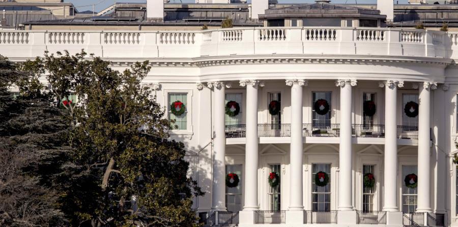 Vista de la parte trasera de la Casa Blanca (horizontal-x3)