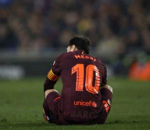 Messi falla un penal y el Barsa sufre derrota en la Copa del Rey