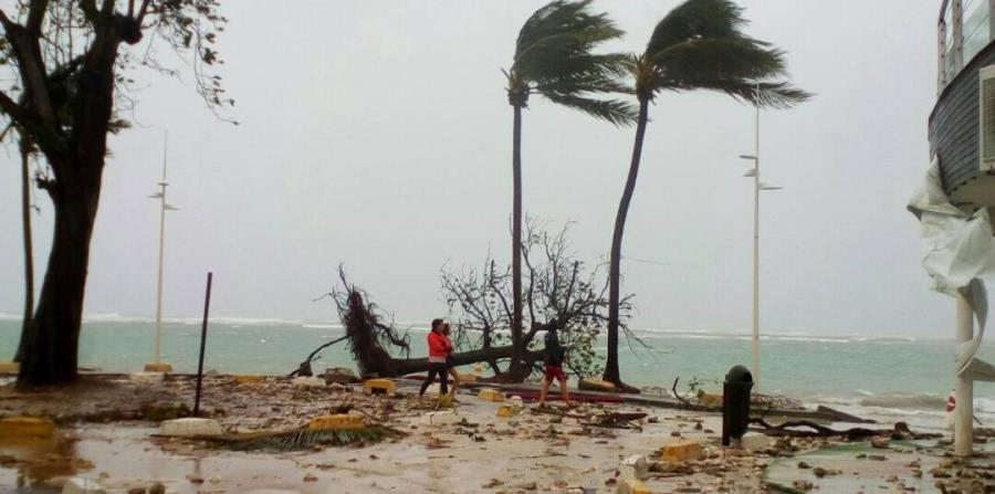 María es uno de los huracanes más poderosos en tocar Puerto Rico. (horizontal-x3)