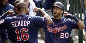 Sólida la ofensiva de Eddie Rosario en el triunfo de los Twins