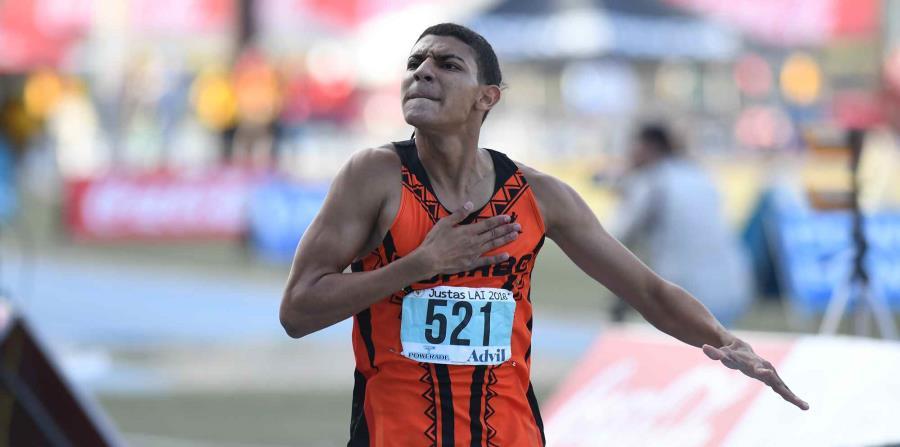 Ryan Sánchez  competirá en los 800 metros en Barranquilla. (Archivo / andre.kang@gfrmedia.com) (horizontal-x3)