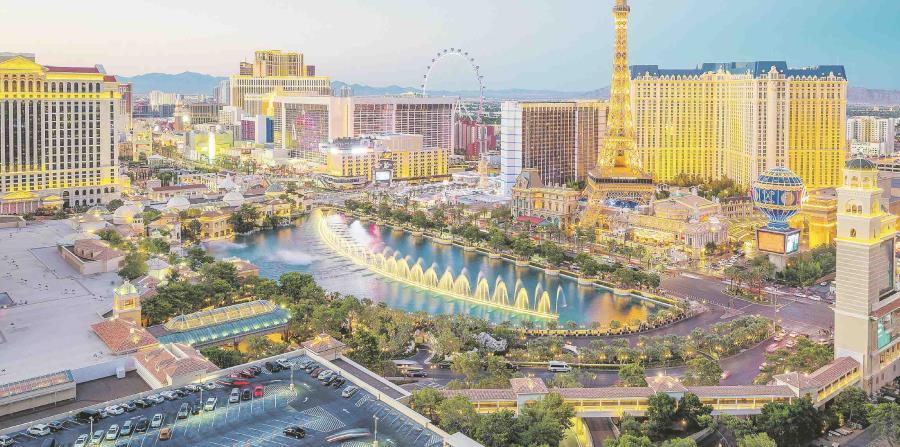 En el 2018, 42 millones de personas visitaron Las Vegas, ciudad cuya popularidad como destino turístico sigue en auge. (Shutterstock.com)