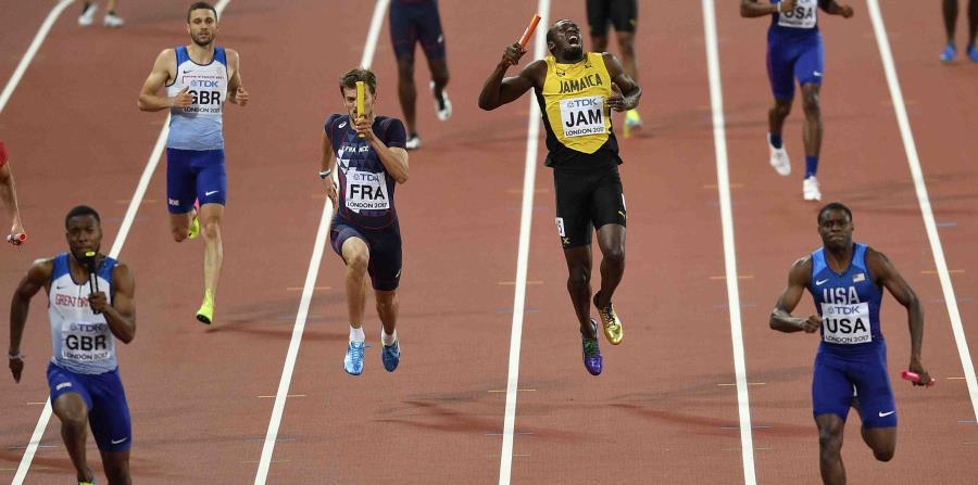 El jamaiquino corrió el primer tramo sin inconvenientes. (horizontal-x3)