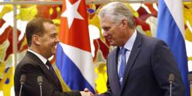 """Dmitri Medvedev: """"Cuba siempre podrá contar con Rusia"""""""