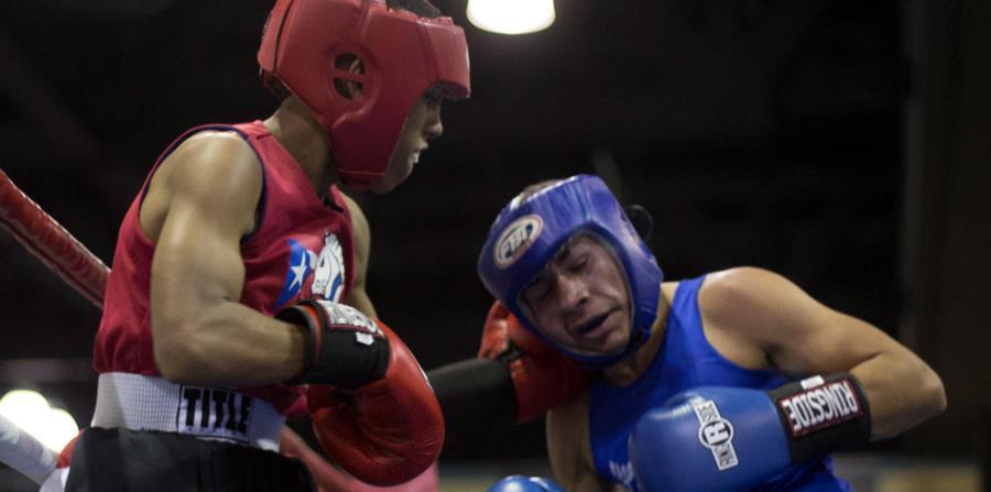 Gil Iglesias, a la izquierda, combate hoy contra Ángel Jarquín. (horizontal-x3)