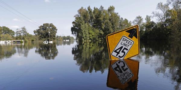 Inundaciones por Florence provocan nuevos desalojos en Carolina del Sur