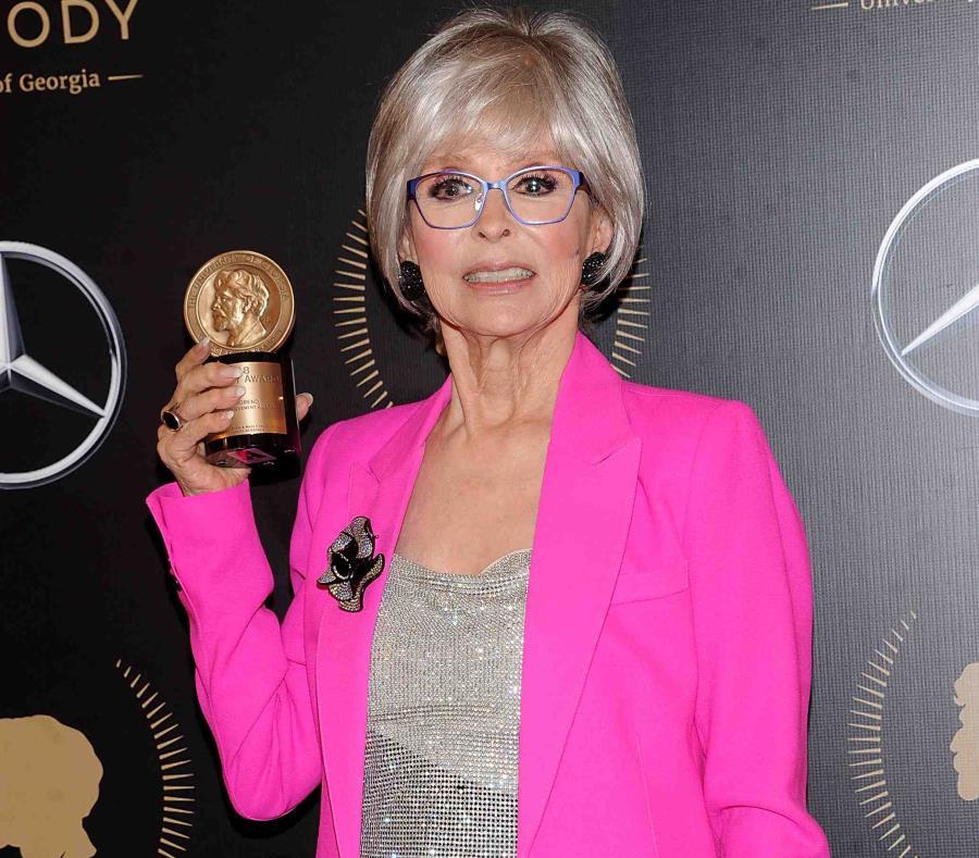 Rita Moreno ha ganado un Óscar, dos Tony, dos Emmy y un Grammy.  (AP) (semisquare-x3)