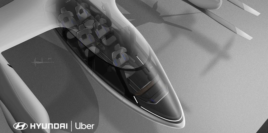 La cabina está diseñada con cuatro asientos para pasajeros, con suficiente espacio para una bolsa o maleta personal o una mochila por viajero. (Suministrada)