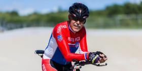 """José """"Papo"""" Espinosa aspira a una marca nacional en ciclismo a los 71 años"""