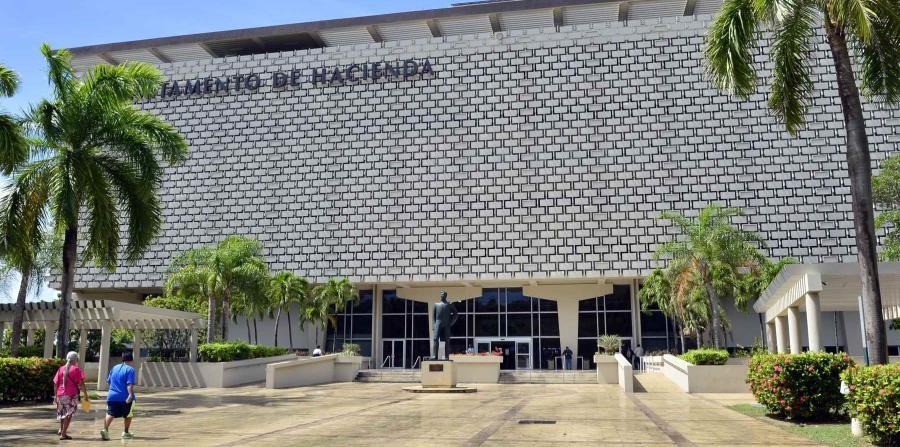 Fachada de la sede del Departamento de Hacienda en San Juan. (GFR Media) (horizontal-x3)