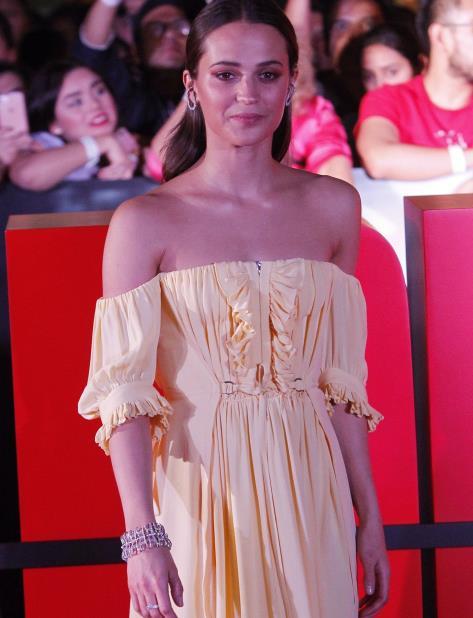 Alicia Vikander anhela actuar nuevamente en una cinta de acción. (EFE) (vertical-x1)