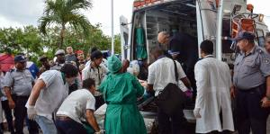 Tres mujeres sobreviven el accidente de avión en Cuba