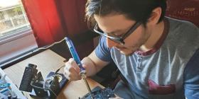 Ingeniero boricua persigue su sueño en el campo aeroespacial
