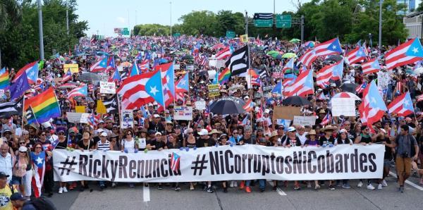 Minuto a minuto: manifestantes se apoderan del expreso Las Américas