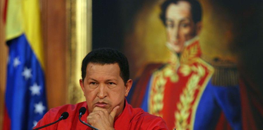 El fenecido presidente de Venezuela, Hugo Chávez. (Bloomberg) (horizontal-x3)