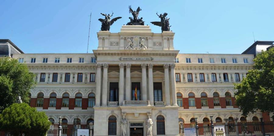 Palacio de Fomento y Ministerio de Agricultura. (Suministrada)