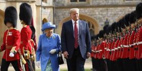 Donald Trump tendrá un almuerzo con la reina Isabel II durante su visita a Reino Unido