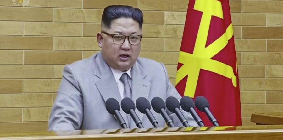 El presidente de Corea del Norte, Kim Jong-un  se iba a reunir con el líder estadounidense, Donald Trump, el próximo 12 de junio. (AP) (horizontal-x3)