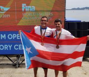 Triunfa nadador boricua en el Mundial Masters de Natación