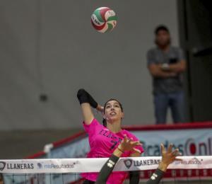 Las Llaneras avanzan a las semifinales del voleibol femenino