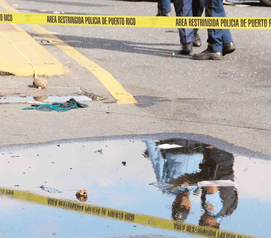 La investigación fue realizada por el agente Luis Candelaria Vélez, de la Division de Patrullas de Carreteras de Arecibo. (GFR Media) (semisquare-x3)