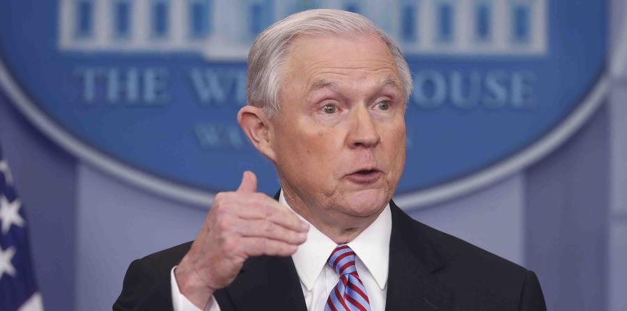 Jeff Sessions, secretario de Justicia de Estados Unidos. (horizontal-x3)