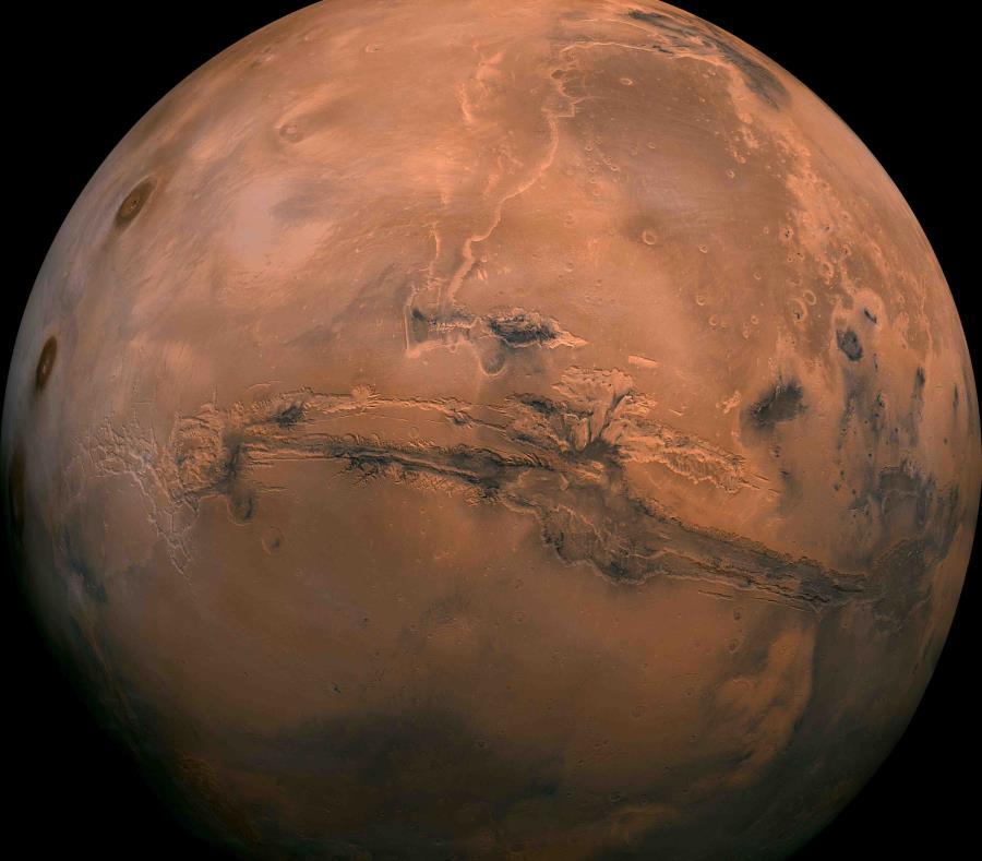 Hoy, martes, el planeta rojo estará a su menor distancia de la Tierra en 15 años. (semisquare-x3)