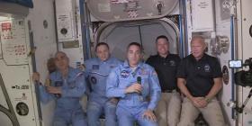 Los astronautas del SpaceX destacan la suavidad del viaje